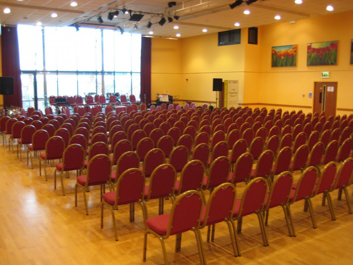 Conference style layout