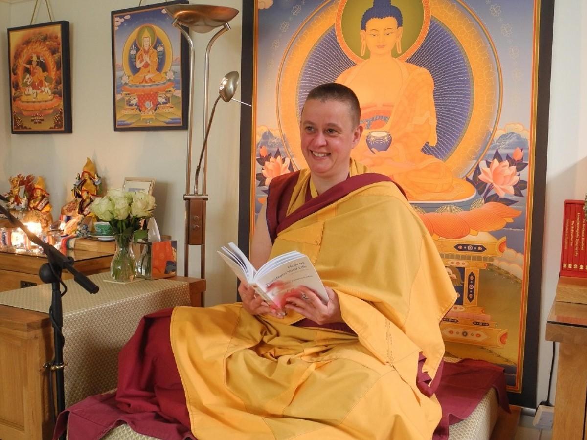 Led by Buddhist Nun Kelsang Rak-Ma