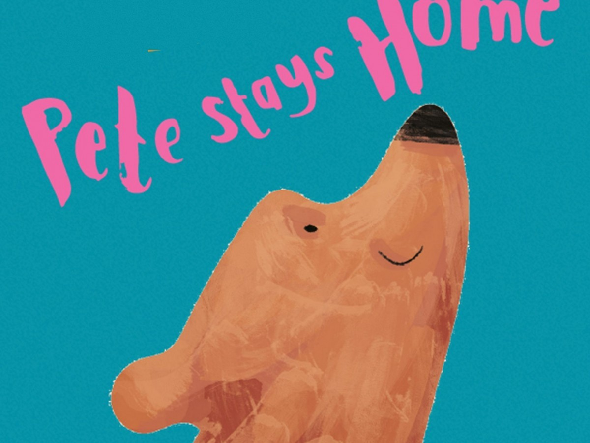 Pete Stays Home poster imageActors on stage