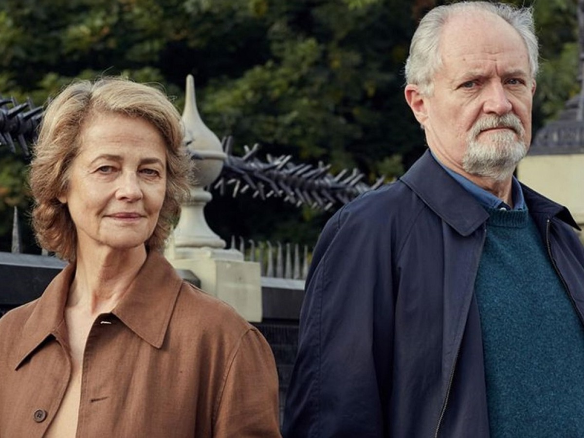 Charlotte Rampling & Jim Broadbent in The Sense of an Ending