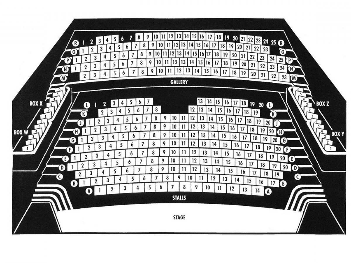 South Holland Centre Auditorium Seating Plan