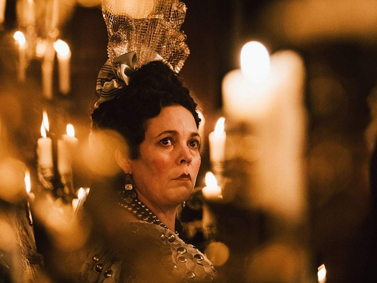 Golden Globe winner Olivia Coleman as Queen Anne